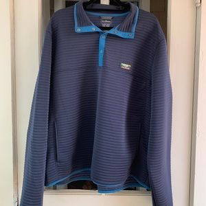 L.L. Bean Soft Ribbed Quarter Zip